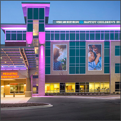 The Spence and Becky Wilson Baptist Children's Hospital – Now Hiring Pediatric RNs